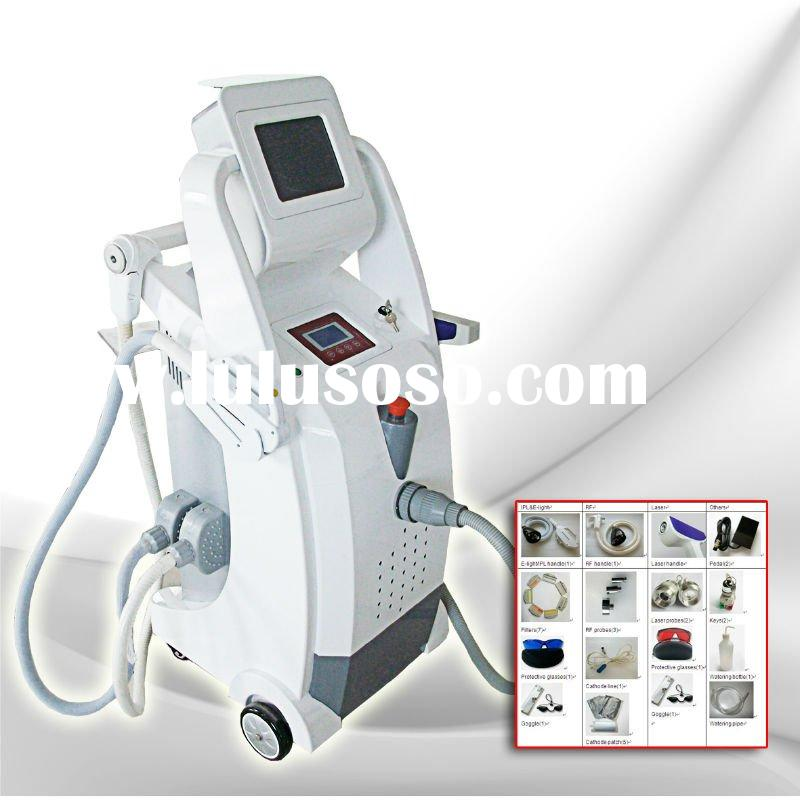 IPL+RF+Laser hair removal&tatoo removal&skin care beauty equipment