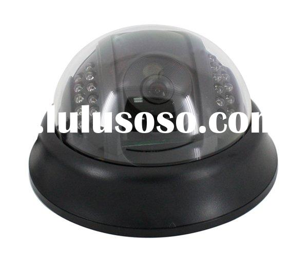 IR COLOR CCD DOME CAMERA
