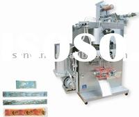 Ice lolly/water lolly 4 side sealing pouch Packing Machine (double lines)