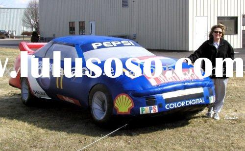Inflatable race car advertising equipment