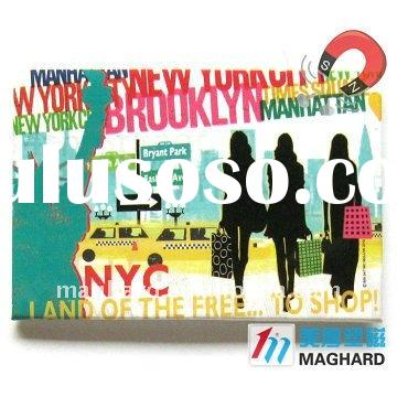 Iron Fridge Magnet Tourist souvenir NEW YORK