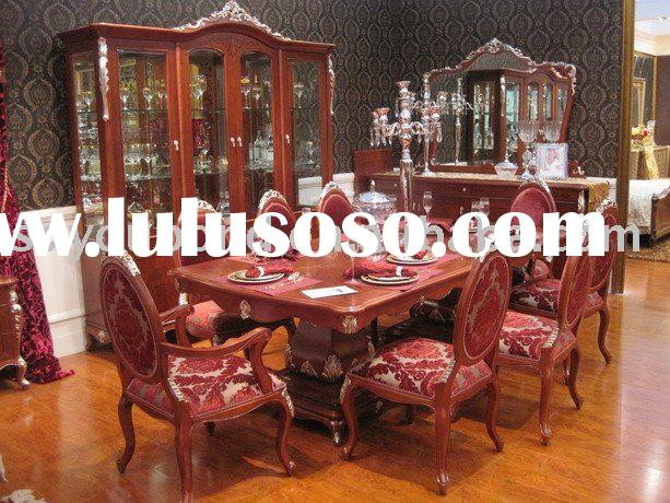 Italy design High-end beech solid wood E36 dining room furniture