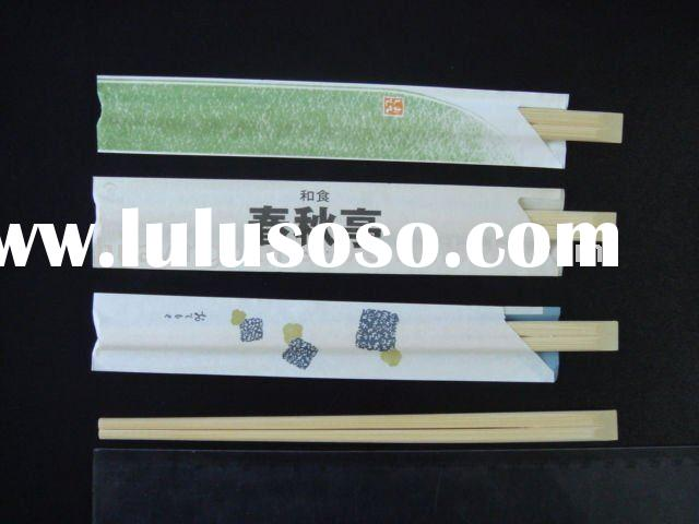 Japanese style restaurant bamboo disposable chopsticks