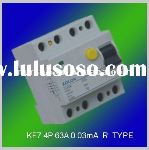 KF7 R type Residual current circuit breaker/rccb/residual current device