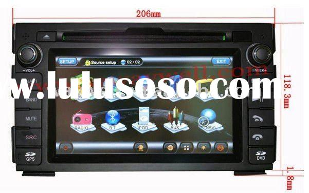 Kia Ceed 2010-2011 HD Car dvd radio with GPS/ Blue tooth/I-POD control/Amplifier car gps navigation+