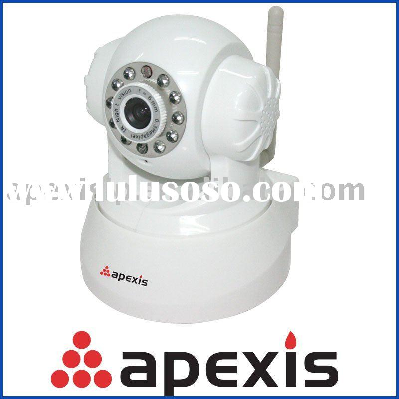 LAN and Internet security wireless ip camera