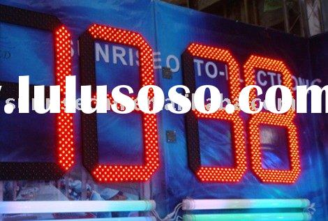 LED 7 segment digital display