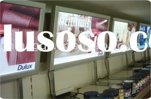 LED Advertising Display Board Suitable for Cafe and Supermarket, Measures 1.0 x 3.0m