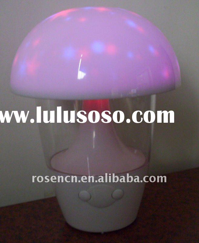 LED light with 7 colors light changing and nature sound music