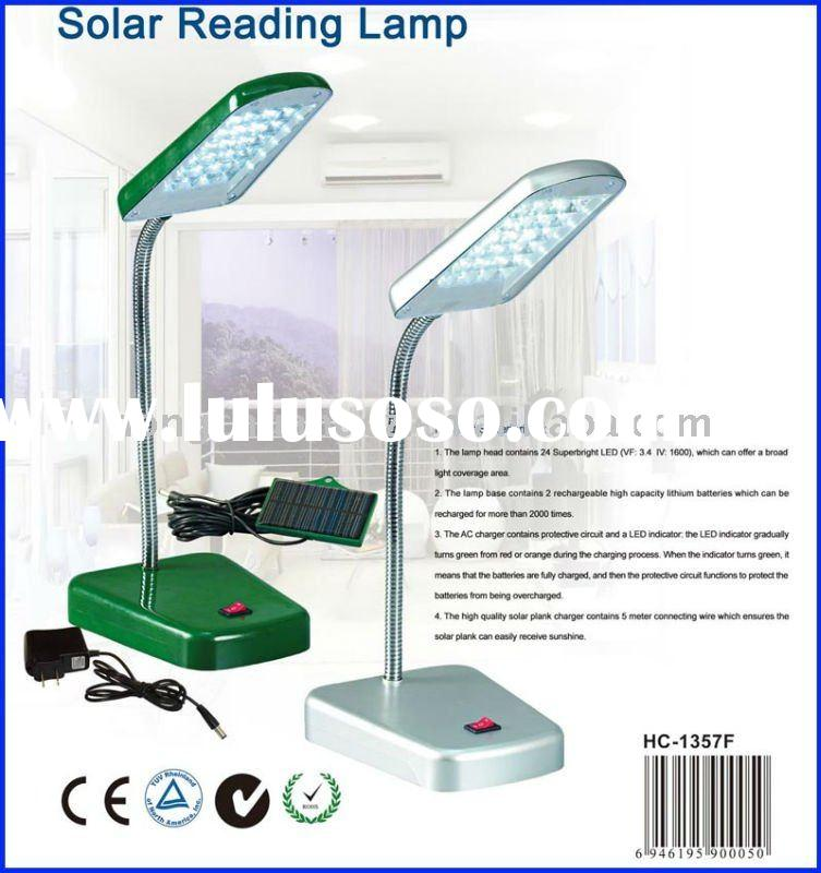 LED solar lamp indoor