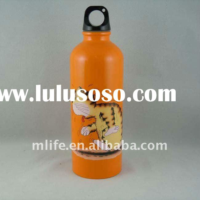 LFGB approved guangdong factory sealed bpa free aluminum sports water bottle