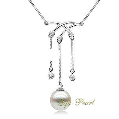 Lady's Fashion Freshwater Pearl Necklace