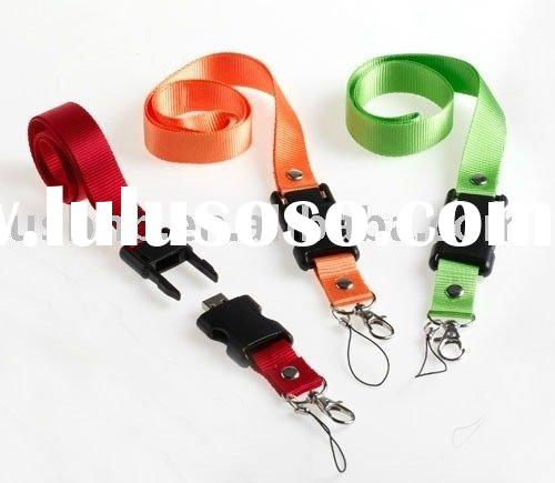 Lanyard shape USB flash memory /jump drives/ USB stick, OEM With CE,FCC and ROHS