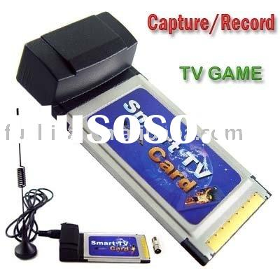 Laptop TV Tuner Card with FM / notebook TV Card