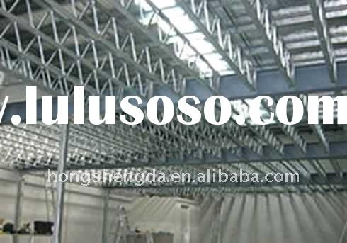 Large span prefabricated light steel frame structure