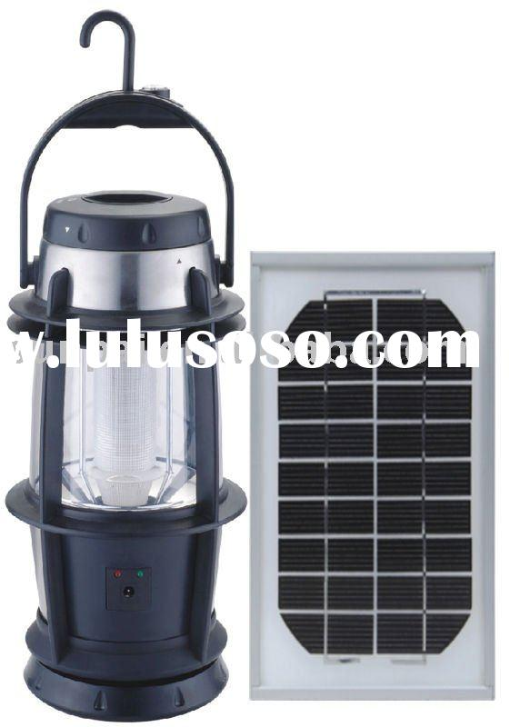 Led solar indoor lamp