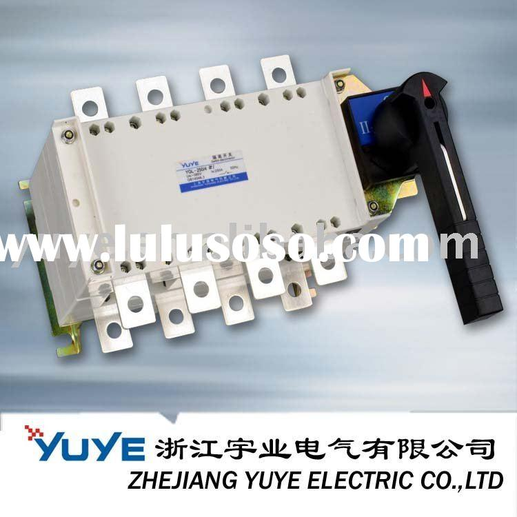 Load Changeover Switch; isolator; isolating switch