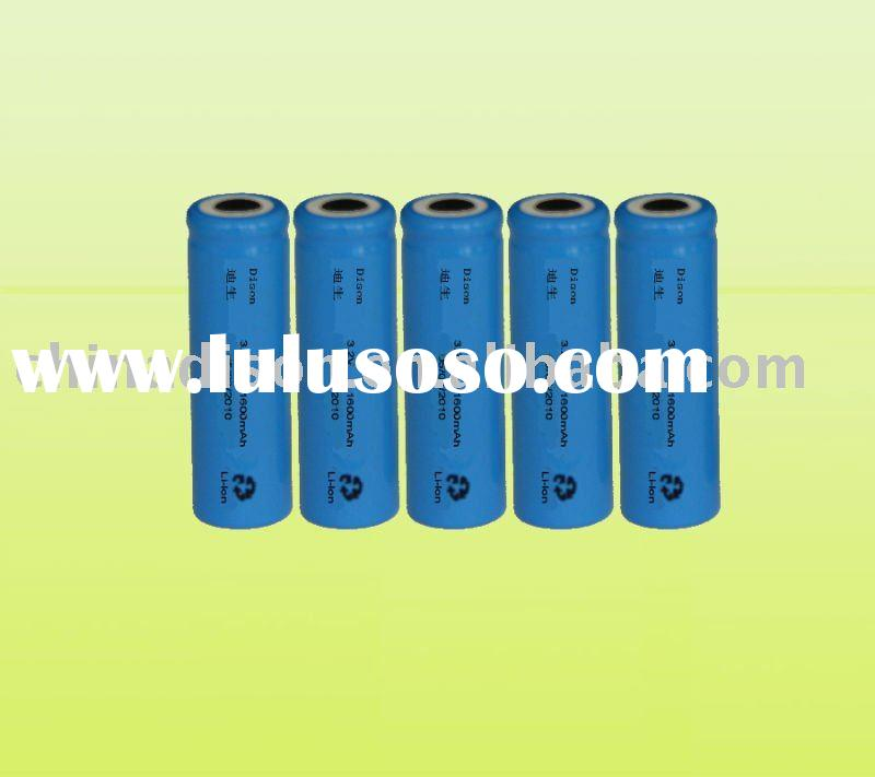 Long Cycle Life ( >1000 times ) 18650 Li-ion Batteries/ Rechargeable Batteries