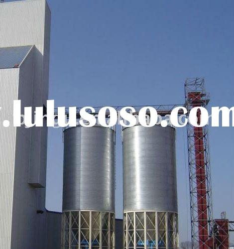 Longtime stored well Alloyed 1000ton grain silo