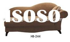 Lounge chair(Malaysia rubber wood upholstery fabric high-density sponge HB-244)