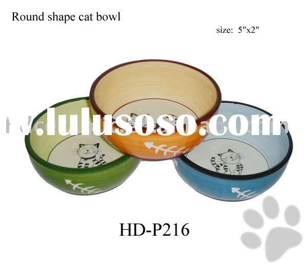 Lovely Ceramic Pet Bowls