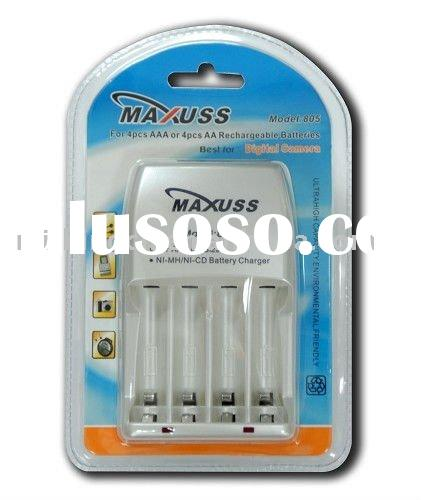 M805 AA AAA Ni-MH/Ni-Cd Rechargeable Battery Charger
