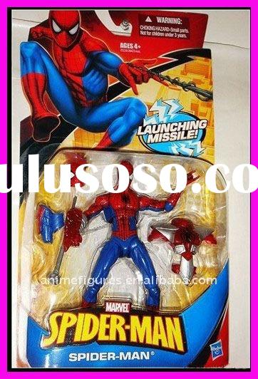 MARVEL SPIDER-MAN SPIDERMAN LAUNCHING MISSILE ACTION FIGURES