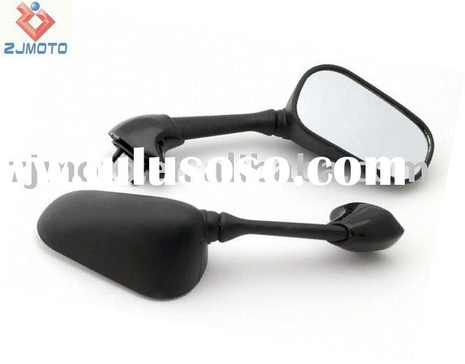MOTORCYCLE Rear MIRRORS For YZF R6 R6S 2003-2008 Black Mirrors