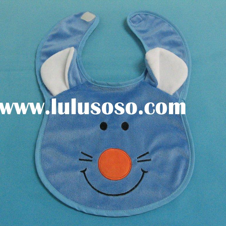 Free Directions to Sew a Baby Bib From a Finger or Hand Towel