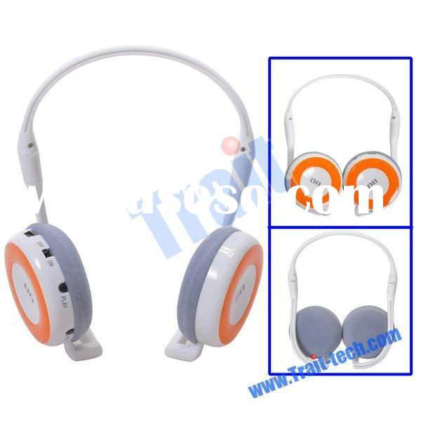 MP3 Player Wireless Headset with FM Radio
