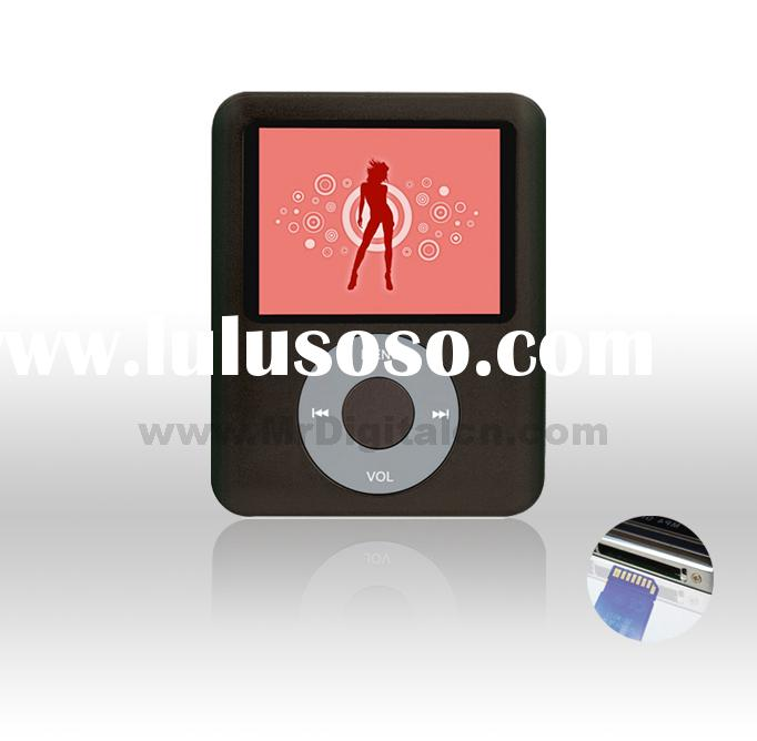 MP4 player with TF card and Speaker(MD-413)