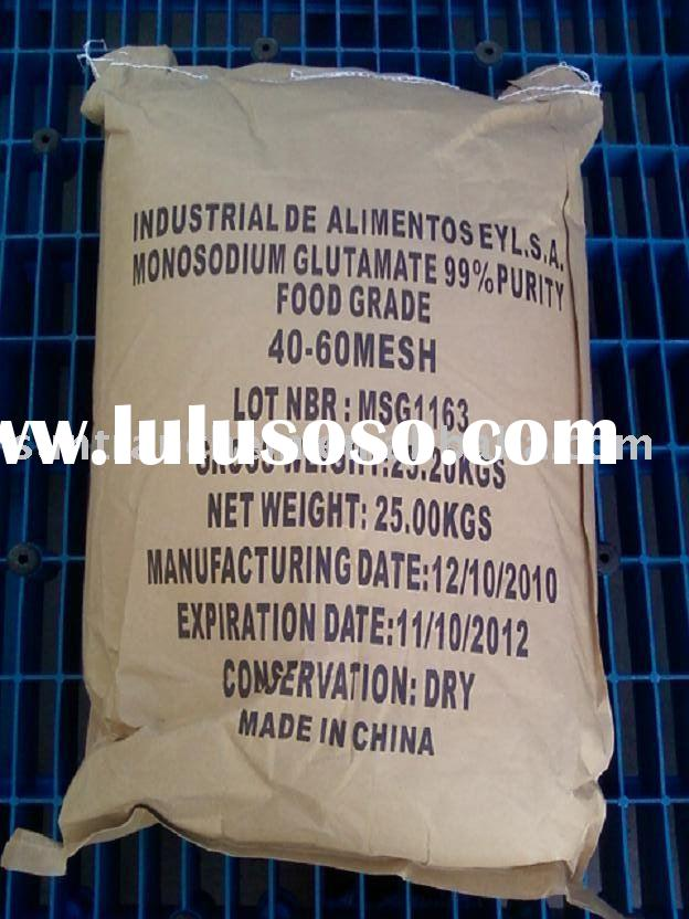 MSG/Monosodium Glutamate 25kgs Packing