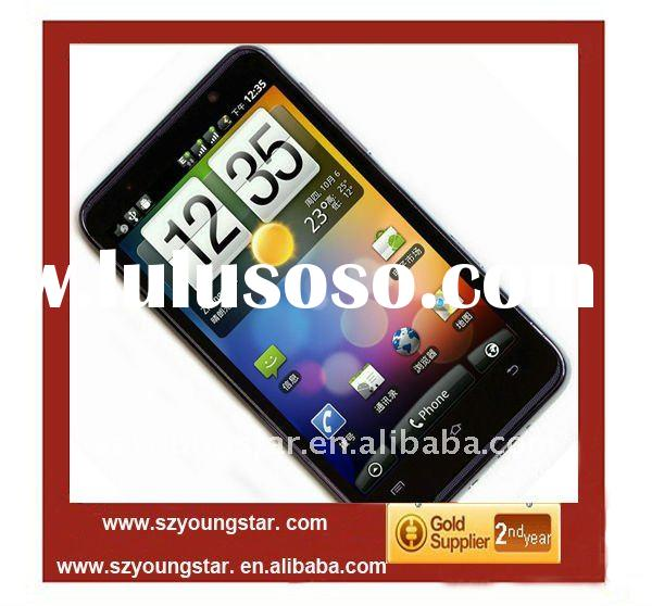MTK6573 Android 2.3 WCDMA 3G+GSM dual SIM cards 4.3'' capacitive screen GPS WIFI TV