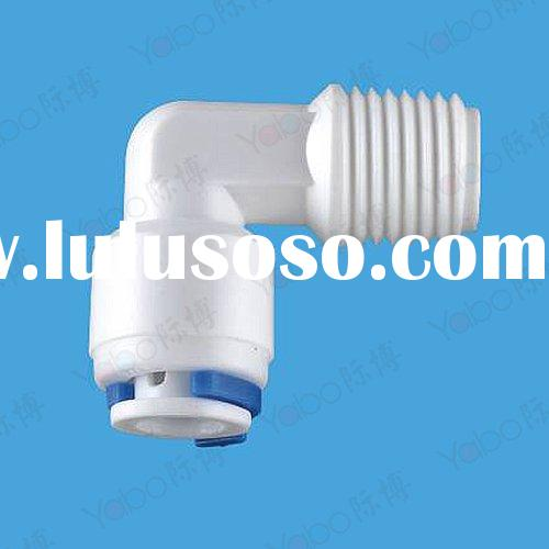 Male elbow adapter/Male elbow quick connector/RO water filter/RO system fitting