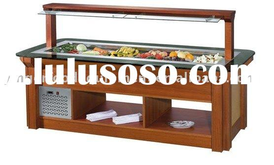 Marble Island Type Salad Bar/restaurant equipment/hotel equipment /kitchen equipment