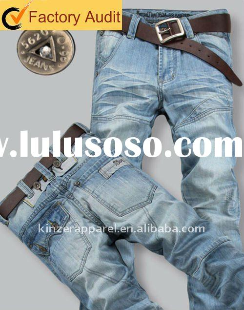 Men's jeans fashion in 2011