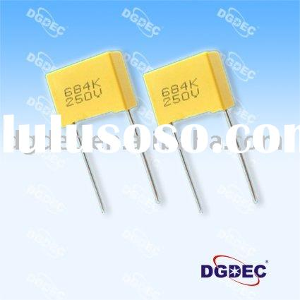 Metallized Polyester Film Capacitor-Box 103 100V
