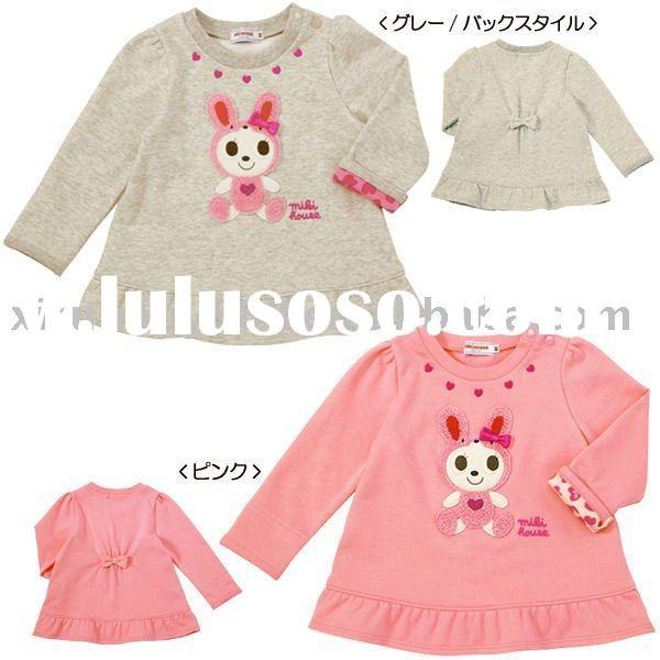 Mikihouse Baby Coat Children Clothes