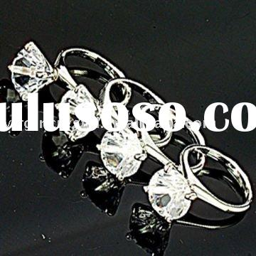 Mini Crystal Diamond Ring Napkin Holder Wedding Favors