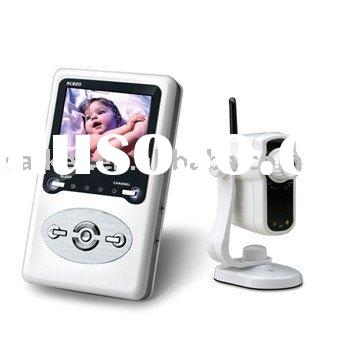 Mini Wifi Security Baby Camera Kit LCD color screen Monitor 2 Way Talk