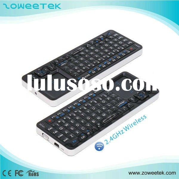 Mini Wireless Multimedia Remote Control Keyboard with Touchpad
