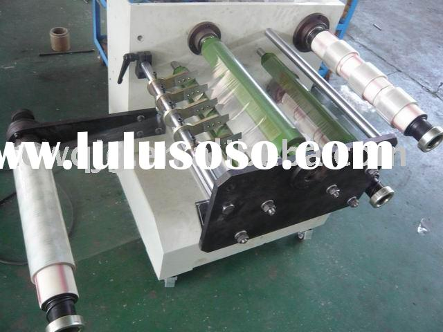 Mini bopp adhesive tape slitting&rewinding machine