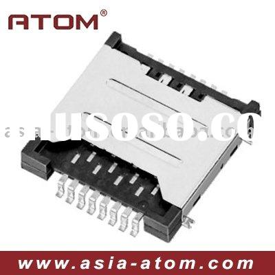 Mobile Phone Dual SIM Card Socket Connector