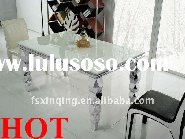 Modern marble top dining table set TH325