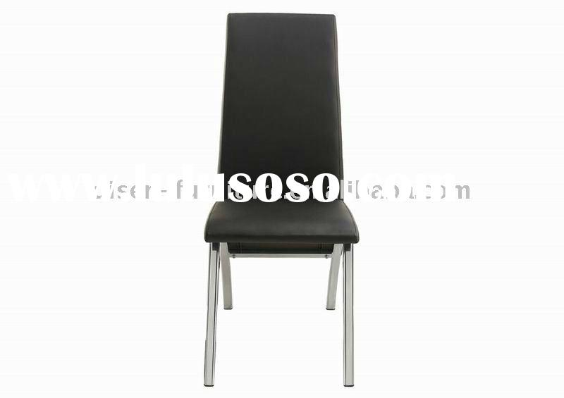 Modern metal&leather chairs dining room furniture DS8022