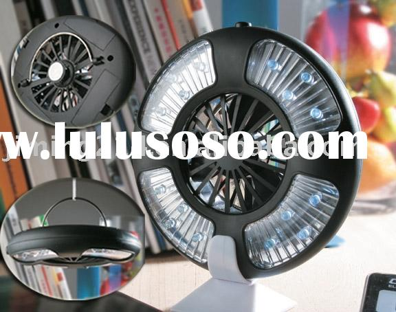 Multifunction 16 LED camping fan tent light FP306: energy saving, more brighter, mini fan, portable,