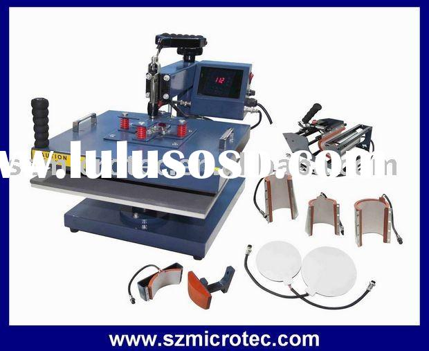 Multifunctional Heat Press Machine (Sublimation machine, Heat transfer machine)