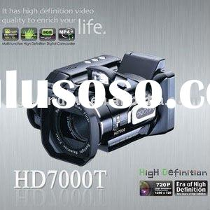 New Arrival HD7000T Digital Video Camera with 1600-pixel High-definition DSLR with Telephoto Lens Ca