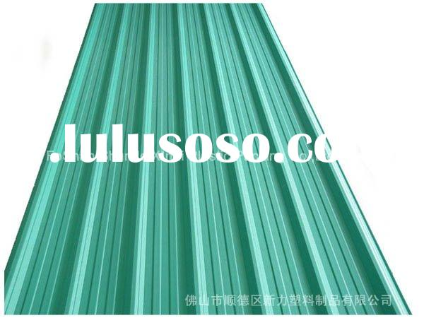 New Building Materials triple layer plastic UPVC roofing tile(underside&top in different color)T