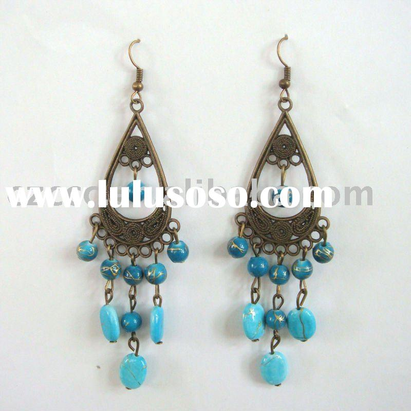 New Style Ceramic Beaded Earring Jewelry
